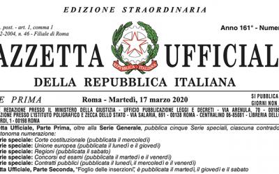 """Le misure straordinarie sul lavoro del Decreto """"Cura Italia"""""""
